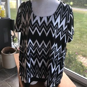 Massini 1X blouse career casual new with tags